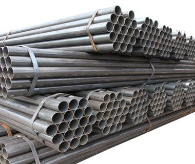 Black Painted ST37 ST52 Seamless Steel Pipe