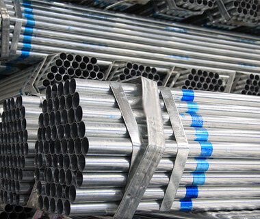 Carbon BS1387 pre galvanized steel pipe