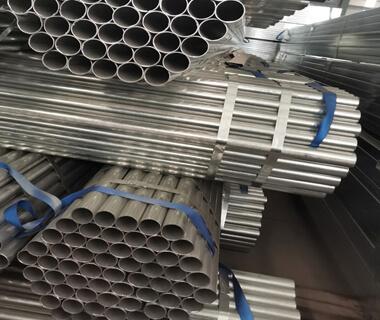 Flat oval tube pre galvanized steel pipe