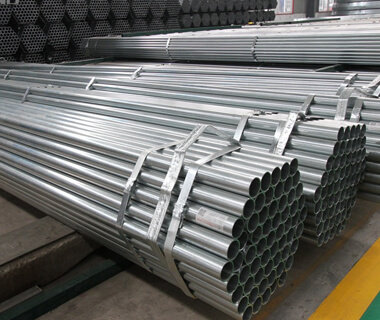Round fence steel pipe galvanized scaffolding steel tube