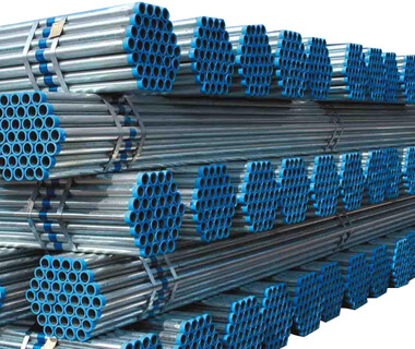 Green house GI welded pre galvanized steel pipe