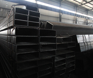 China Factory Hot Rolled Black Carbon RHS Steel Tube
