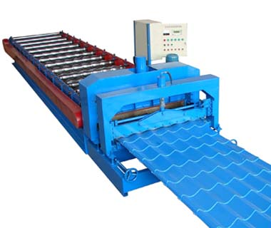 Custom metal steel flat sheet roll forming machine