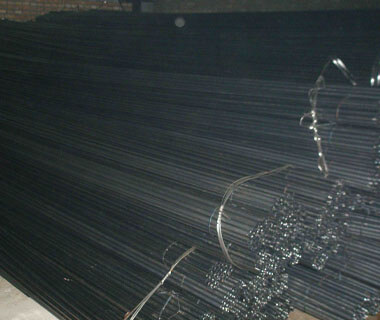 High Dipped ERW Carbon Round Black Furniture Steel Pipe