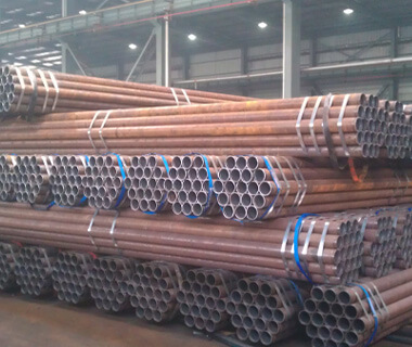 Building Material ERW Q345 Black Round Steel Welded Pipe
