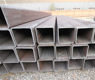 SS400 STKR400 MS steel ERW square hollow section pipe