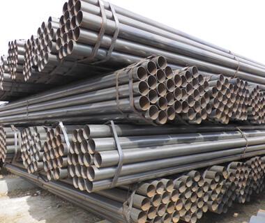Custom ERW Welded Black Steel Pipe Tube Supplier