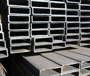 40x80 RHS Hollow Section Gi Rectangular Steel Pipe