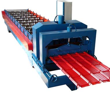 Custom IBR roof sheet steel roll forming machine manufacturer