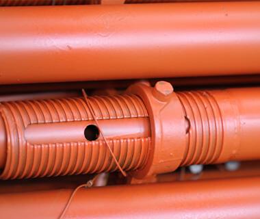 ERW Black Round Steel Pipe Q235 Construction Scaffold Tube