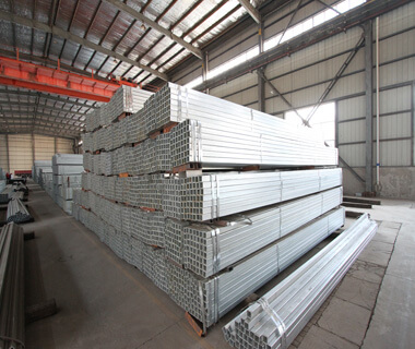 SHS Hot Dip Galvanized Steel Rectangular Construction  Hollow Section Pipe