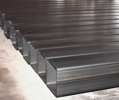 Custom Rectangular Hollow Section Construction Steel Pipe