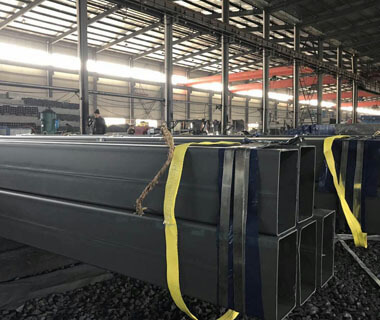 High Quality Rectangular Structural Hollow Metal Steel Pipe