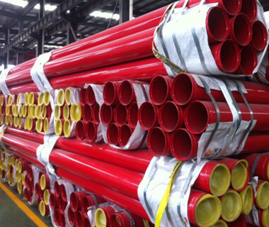 High Quality Red Painted ERW Steel Tube Manufacturer