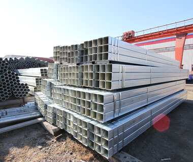 Hot Dip Galvanized Steel SHS Square Hollow Section