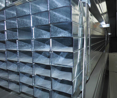 Hot Dipped Pre Galvanized Square Rectangular Hollow Section Steel Pipe