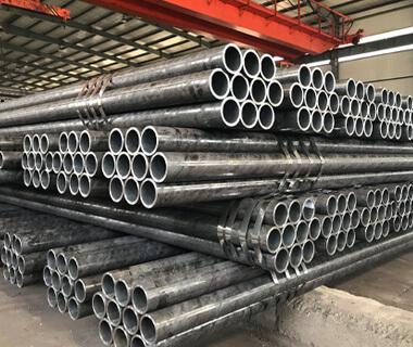 SS400 ERW Black Round Steel Tube Welded Steel Pipe