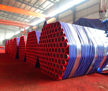 Custom 5 Inch CS Powder Coated PVC HDG Steel Pipe