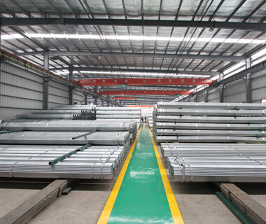 50mm Marking Pre Galvanized Steel Pipe Greenhouse Pipe