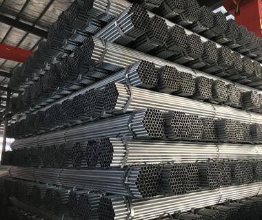 6 Inch EMT Conduit Pipe Pre Galvanized Steel Round Pipe