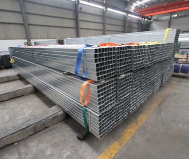 Hot-Dip Galvanized Square Hollow Steel Pipes and Tubes