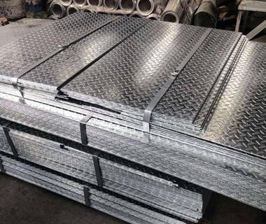 1050 1100  Aluminum Embossed Aluminum Tread Coil From China Factory