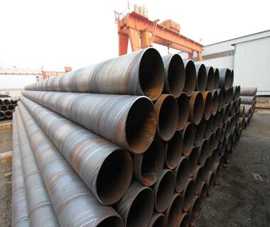 Spiral 3LPE Oil Pipeline Anti Corrosion Welded Steel Pipe