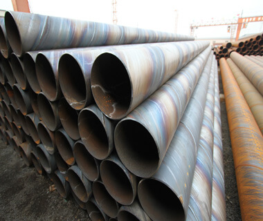 Spiral Welded Steel Pipe 3LPE Oil Pipeline Anti Corrosion from China Export