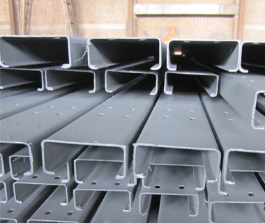 Metal Building Steel Electrical Slotted  C Channel Steel