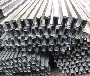 Wholesale Metal Roofing Purlin Galvanized Omega Steel Profiles