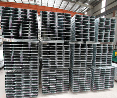 High Quality Galvanized Stainless Steel C Channel Steel