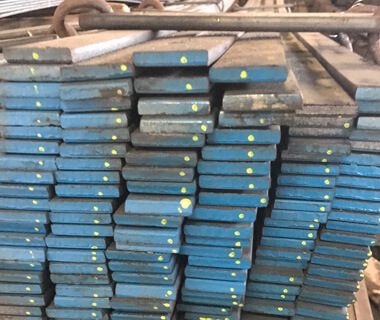 High Carbon Quenched and Tempered Forged Steel Flat Bar