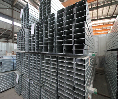 Hot Dipped Galvanized C Channel Steel of  Chinese Supplier