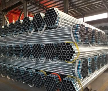 Custom Marking Pre Galvanized Round Steel Pipe Astm A53 Sch 40