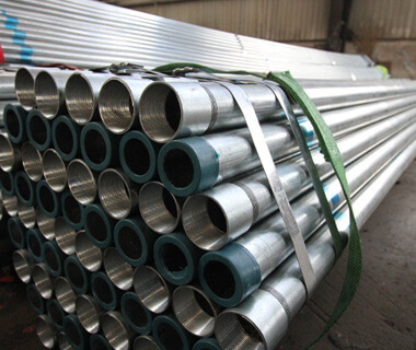 China Factory Pre Galvanized Steel Pipe with Threaded