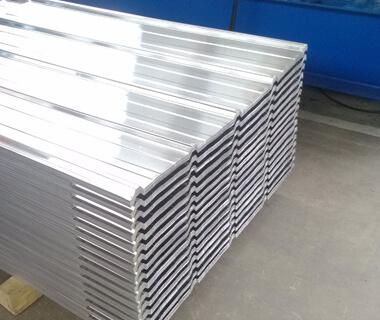 Aluzinc Corrugated Roofing Plain Sheet