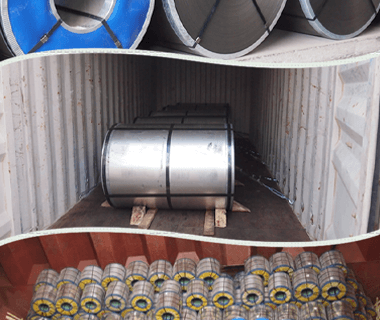 Anti-finger Al-Zn Coated Galvalume Steel Coils Plain Sheets