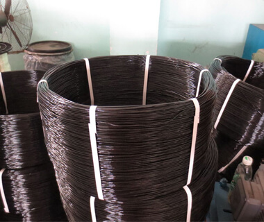 China Black Annealed Iron Wire High Tensile Steel Strand Wire