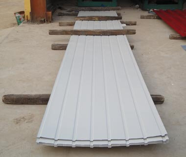 Hot-galvanized Direct Metal Coated Steel Roofing Sheet