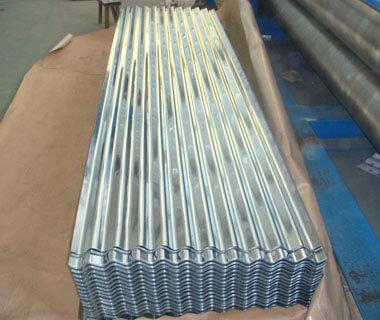 Circular Corrugated Galvanized High-strength Steel Sheet