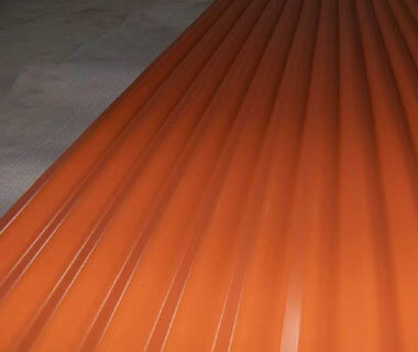 Color Painting Corrugated Roofing Sheet Pre-painted Steel Plate