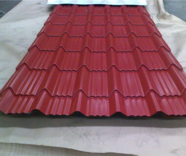 High-quality Corrugated Roofing Steel Plate Prepainted Galvanized Wave Sheet