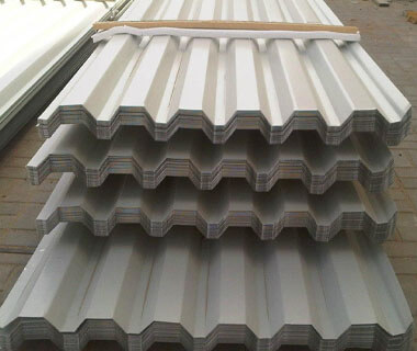ASTM Corrugated Coated Sheet Trapezoid Roofing Plate with High Quality