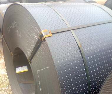 Diamond Pattern Embossed PPGI Pre-painted Galvanized Steel Coils