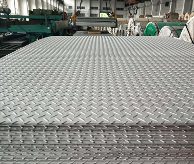 Supplier Wholesale Diamond Pattern Embossed Steel Coils and Plain Sheets