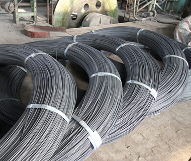 Factory Supply High Tensile PVC Plastic Coated Galvanized Steel Wire Rod