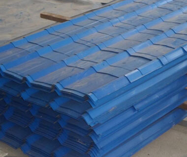 AISI Color Coated Galvanized Iron Roofing Steel Sheets from China Factory