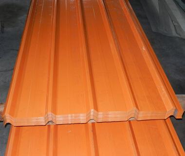 Galvanized Wave Pattern Metal Roofing Steel Sheet