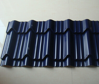 Metal Sheets Corner Ridges Tiles Corrugated Galvanized Steel from China Factory