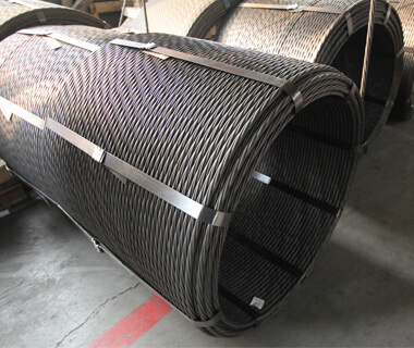 High Strength PVC Coated Wire Steel PC Steel Strand for Prestressed Concrete Low Relaxation